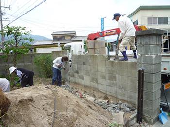 福岡市早良区野芥 M様 駐車場 増設工事