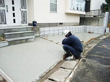 福岡県博多区諸岡 S様 駐車場 増設工事
