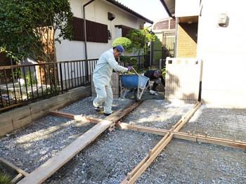 福岡市南区老司 T様 駐車場 増設工事