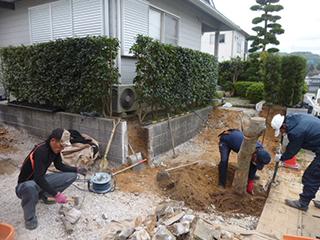 筑紫野市原田 駐車場増設工事
