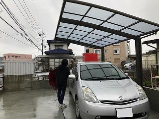 写真:施工後の駐車場